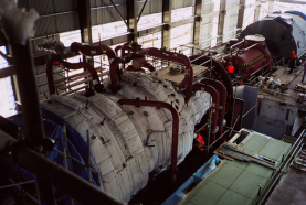 Huntly Gas Steam Turbine Generator Installation