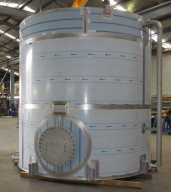 30,000 litre Stainless Steel Tank @ IMG Kawerau