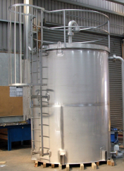 Fonterra 10,000 litre Sulphuric Tank