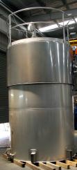 10,000 litre Stainless Steel Tank @ BW Murdoch