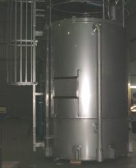 15,000 litre 304 Stainless Steel Tank @ Fonterra Hautapu