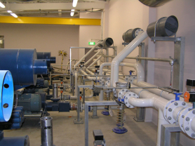 Eastport Carbon Steel Pipe Install