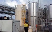 Fabricate & Install Acid Tanks