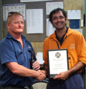 Apprentice completed Trade Qualification