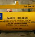Chlorine drum lifting beams